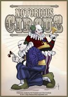 Notorious Circus Clowns by ChrisEvenhuis
