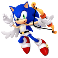 Cupid Sonic Valentines Day 2018 Render by Nibroc-Rock