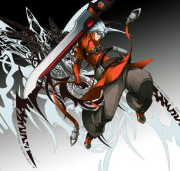 Ragna The Bloodedge by BoostYourLife21