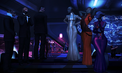 Mass Effect - Party time by hentaithimy