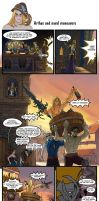 Arthas and Naval Maneuvers by scourge-minion
