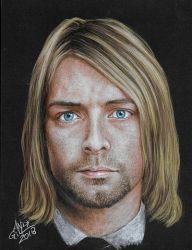 Kurt Cobain by AndyGill1964