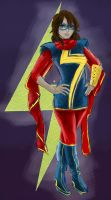 Ms Marvel Kamala Khan by OwlVortex