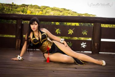 Chun Li - Battle Costume | Street Fighter V (SFV) by daniellevedo