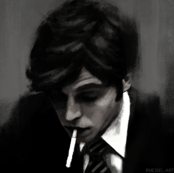 Tom Hughes Study by ibuzoo