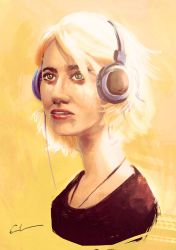 Sense8 - Riley by Syrphin