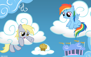 MLP#9 Derpy and Dashie by SymbianL