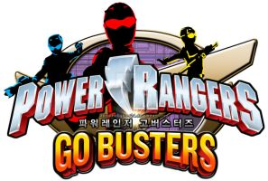 Power Rangers Go Busters English Logo (Fanmade) by AkiraTheFighter24