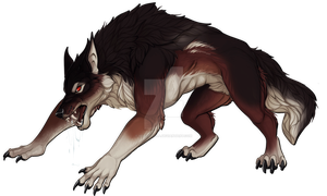 Werewolf by Rollie-Fola