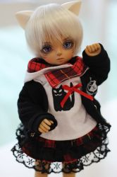 Alec Mini in Black Cat Set by shinzei