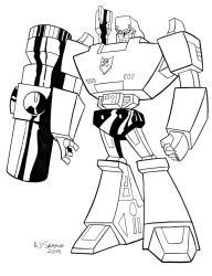 G1 Animated Megatron by AJSabino