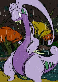 Goodra by TheCrocky