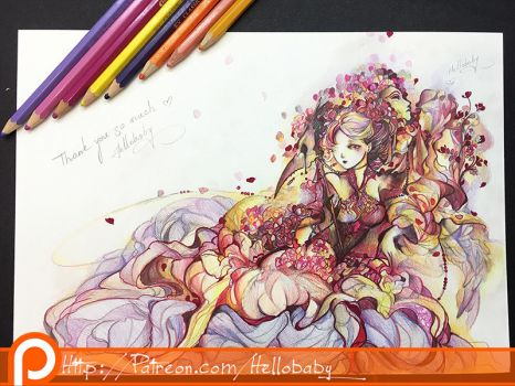 Carnival Lady (+making video) by Hellobaby