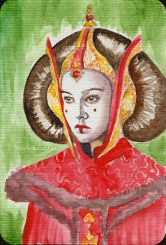 Amidala Padme from Naboo by aliciayellowlodge