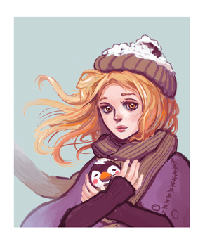 Winter by 0x4fffwhite