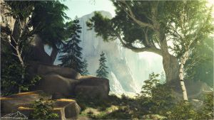 Forest Edge by 3DLandscapeArtist