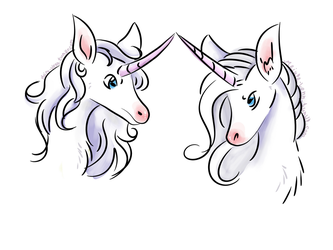 Quick Unicorn Doodles by SailorSun546