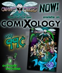 Combat Fairies #1 OUT NOW! by OuthouseCartoons