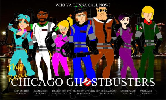 Real Chicago Ghostbusters by Bort826TFWorld