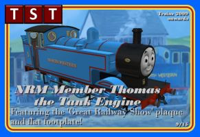 National Railway Museum Member Thomas RETIRED by thejonateers