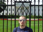 Me In front of the White House by GeneralTate