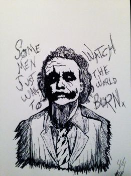 Some Men Just want to Watch the World BURN!!! by zombis-cannibal