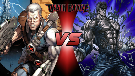 Death Battle: Cable vs Kenshiro by lightyearpig