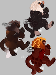 Lion? adopts [1/3 open] by Wereprincex