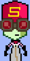 Frycook / Banished Zim Sprite by HonorAmongScars