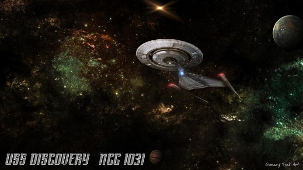 Star Trek USS Discovery NCC 1031 Wallpaper by gazomg