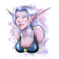 Aeradrith +bust commission+ by 77Shaya77