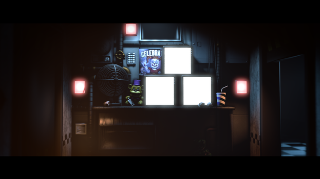 [SFM FNAF] Private Room Poster (Lighting Test) by nathano2426