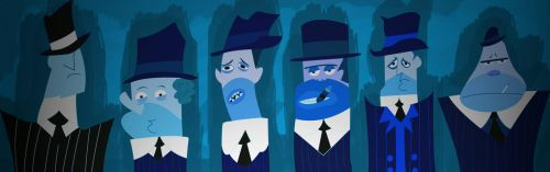 Blue Gangsters by Ashen7