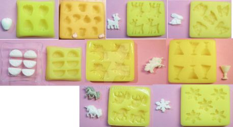 2nd set of custom candy molds by notoes
