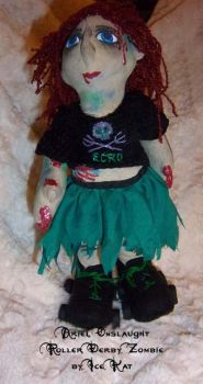 Ariel Onslaught zombie doll by The-IceKat