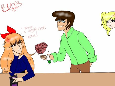 Blossom Doesn't Wanna Deal With You, Jared... by BrickercupMasterX3