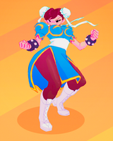 Chun Li Sycrafied by Sycra