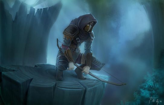 Conall the Archer by The-Unj