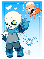 [FA] The Sans-ational Sans ::Underswap:: by NobleChinchi