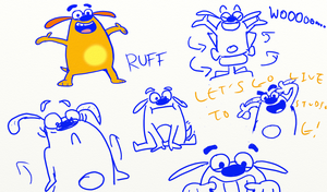 Fetch! With Ruff Ruffman Doodles by NumbuhOne