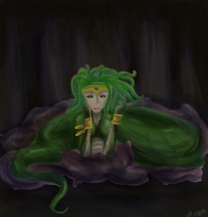 Contest Entry #19 Medusa by TheGrigoriAnime