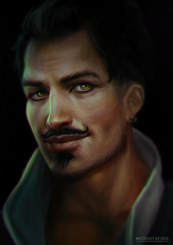 Moustache Guy by Withoutafuss