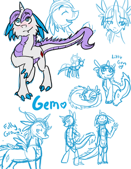 Gem is best Kirin by ive-moved-bitches