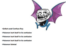 Golbat and Confuse Ray