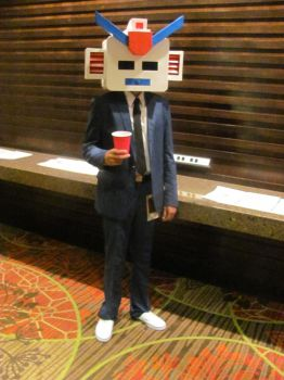 Animefest '12 - Robot Chuck by TexConChaser