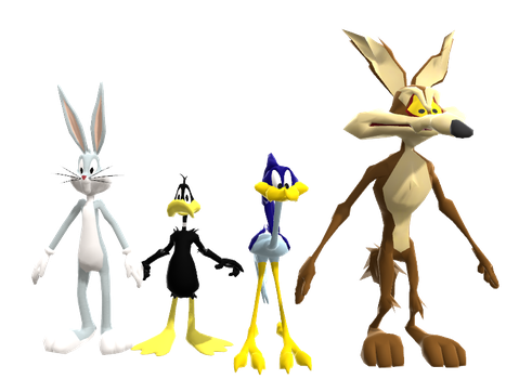 Looney Tunes: Back In Action Models for MMD (DL) by Sticklover4