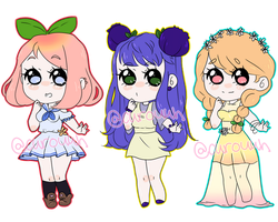 \\LOWERED PRICE\\ Fruity Adopts (CLOSED) by Ssweetpea