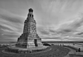 Law Hill Monument by BusterBrownBB