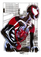 Sketch Ultimate Spiderman by JonathanPiccini-JP
