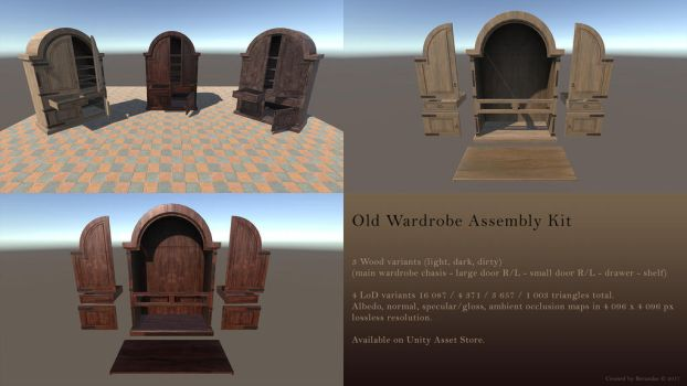 Old Wardrobe Asseblmy Kit by Berandas
